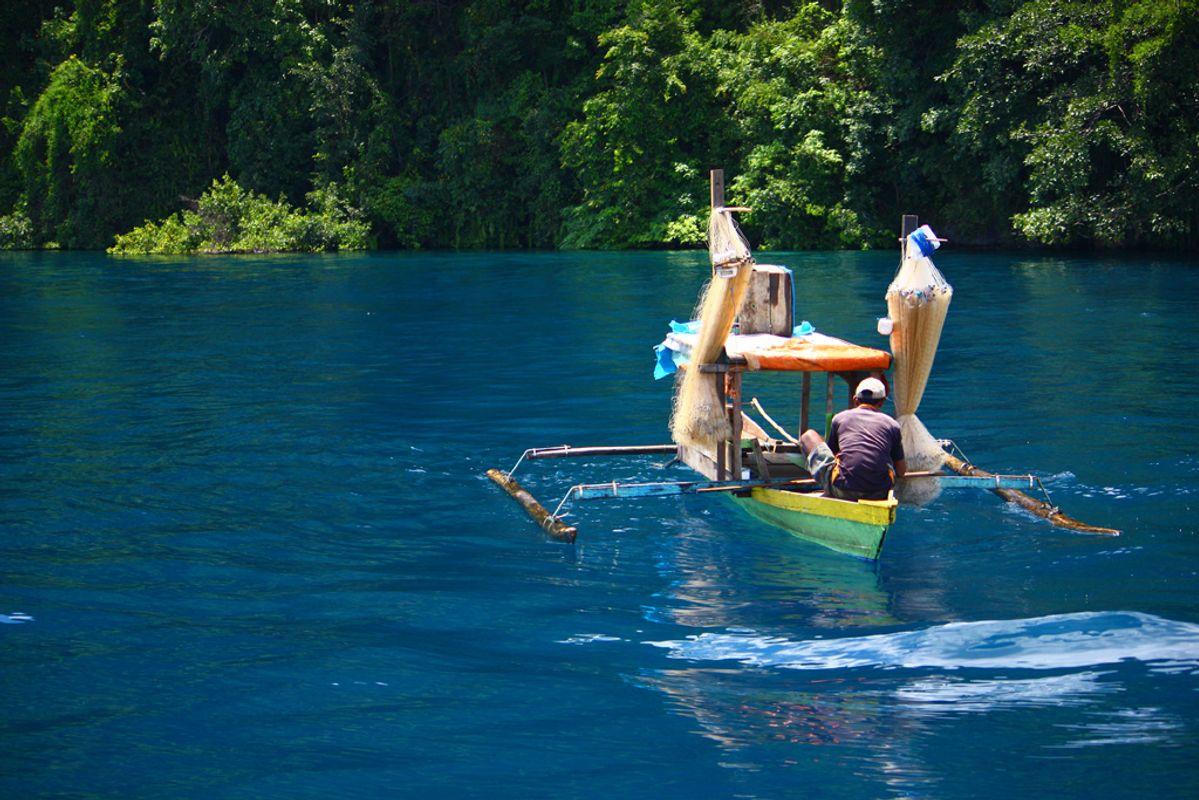 Fishing On Matano Lake