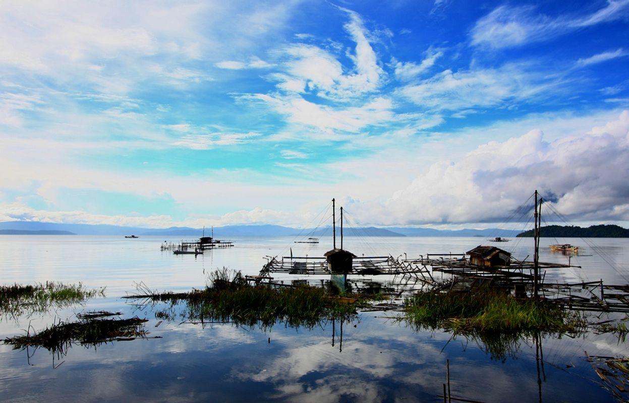 Reflection On Towuti Lake