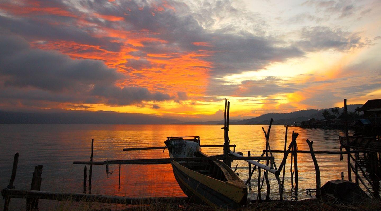 Boat and Sunrise