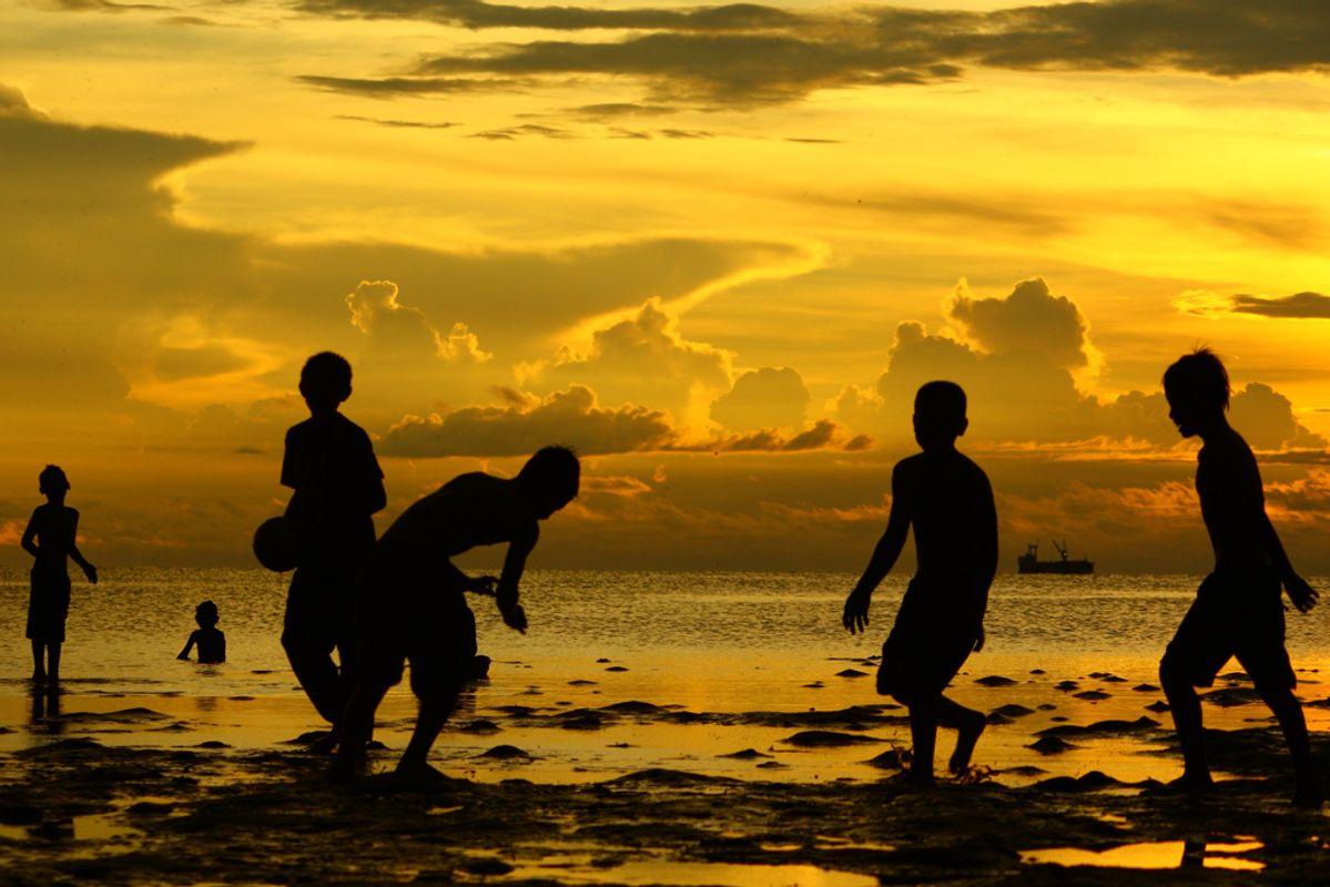 Sunset Playground