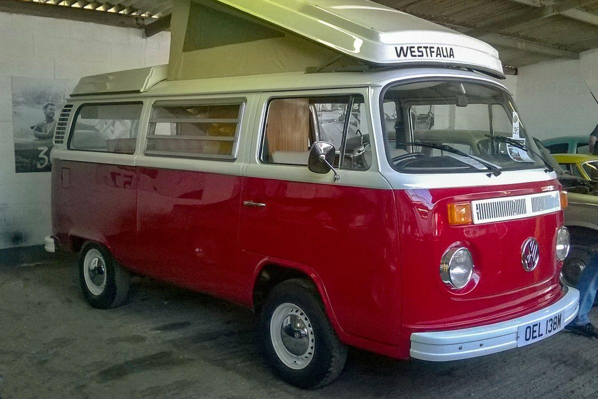VW Type 2 Westfalia Continental Campervan.
