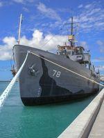 USS Mohawk Navy combat ship, Key West, FL, USA - US military, large ships