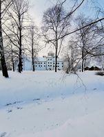 Castle in Winterwonderland