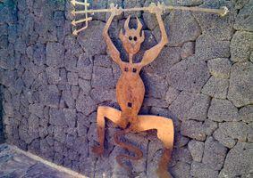 El Diablo Sign, Timanfya National Park