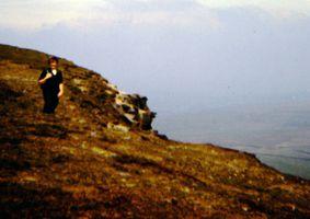 Vintage Picture - Pendle Hil 1974