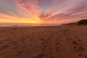 Sunrise at Winterton-On-Sea