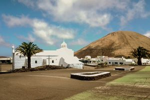 The Chapel and the Sanctuary of Our Lady of Sorrows, Mancha Blanca, Lanzarote