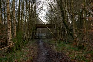 Bridge Over a Closed Railway.