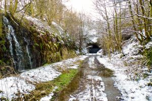 The Entrance to Queensbury Tunnel.