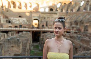 Sinba inside the Colosseum