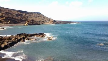 Coast Line at El Golfo