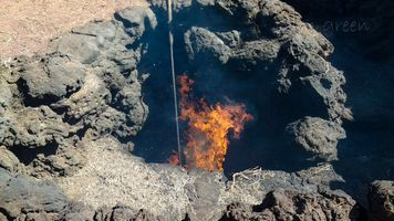 Fire in the Hole, Timanfya National Park