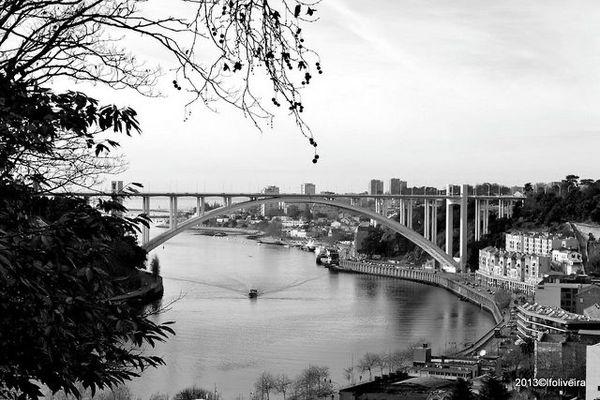 Oporto Douro river
