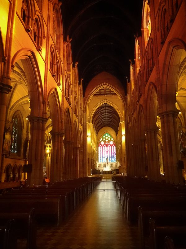 Saint Marys Cathedral is the Roman Catholic cathedral in Sydney and the seat of the Archbishop of the Archdiocese of Sydney