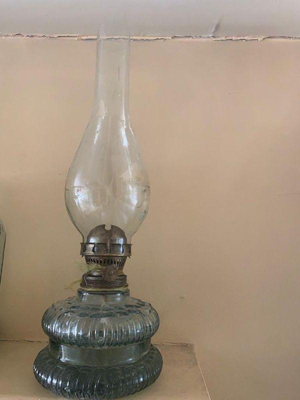 My grandma old oil lamp