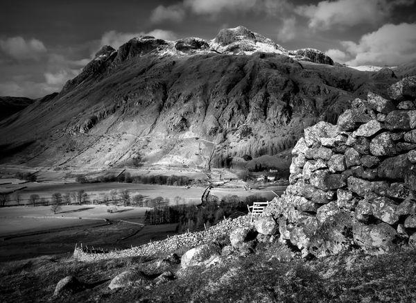 The Langdales, Cumbria, Lake District