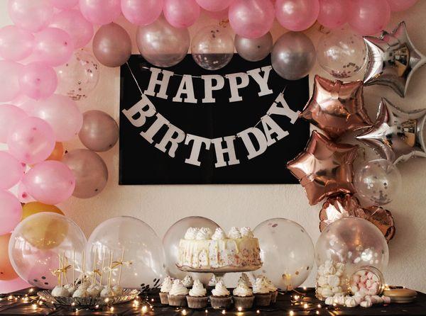 Birthday decor
