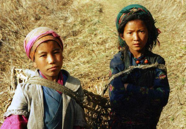 Girls from Ghatlang.