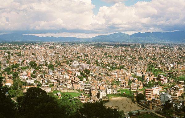 Kathmandu. the capital of Nepal.