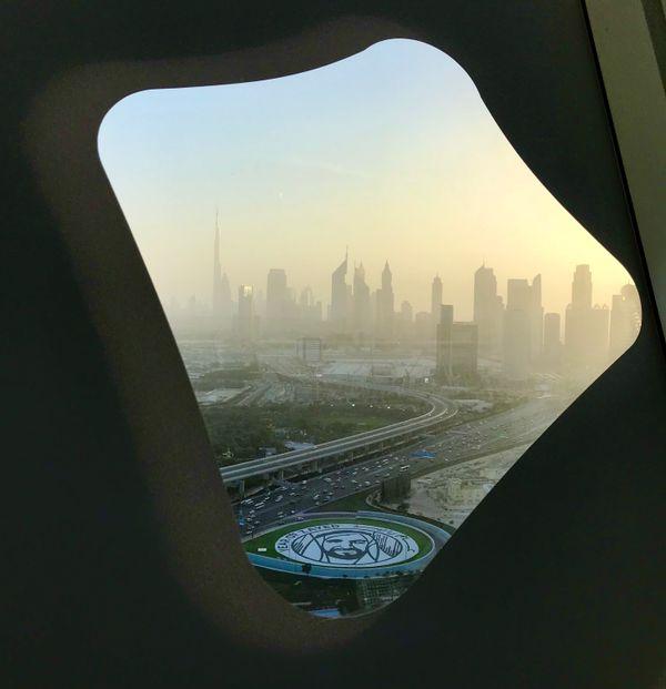 Skyline from The Frame Dubai 3