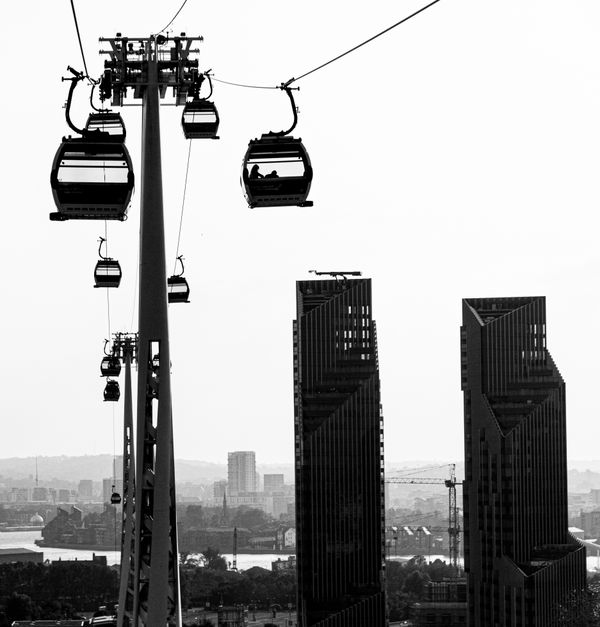 Cable Cars Over London