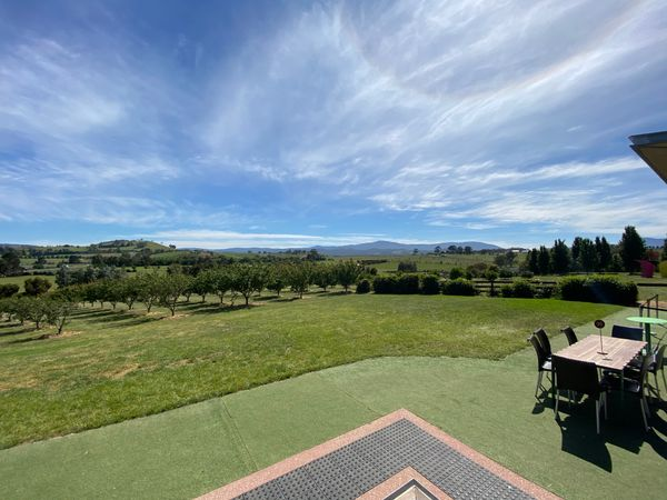 View from chocolaterie at Yarra Valley