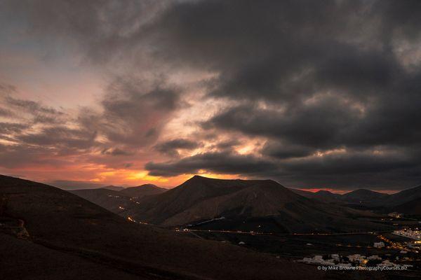 Sunset Storm Clouds