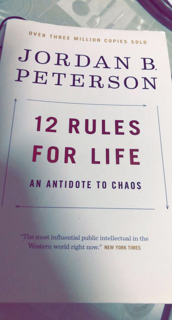 12 RULES OF LIFE!