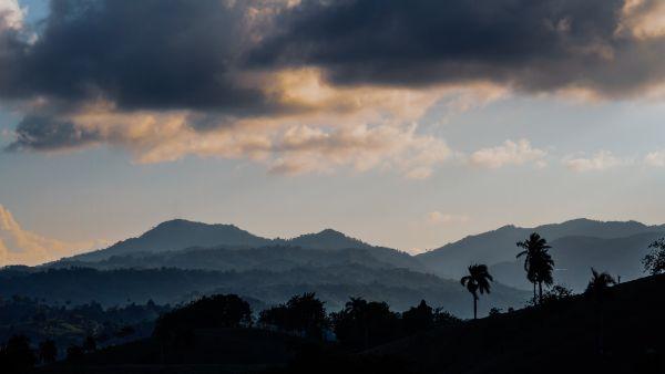 Dominican Republic Mountain View