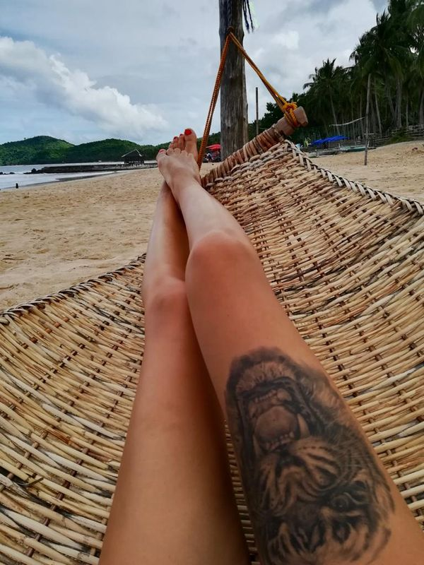 Relax at the beach!