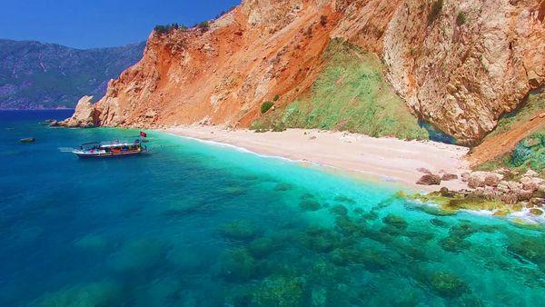 The coast of Turkey