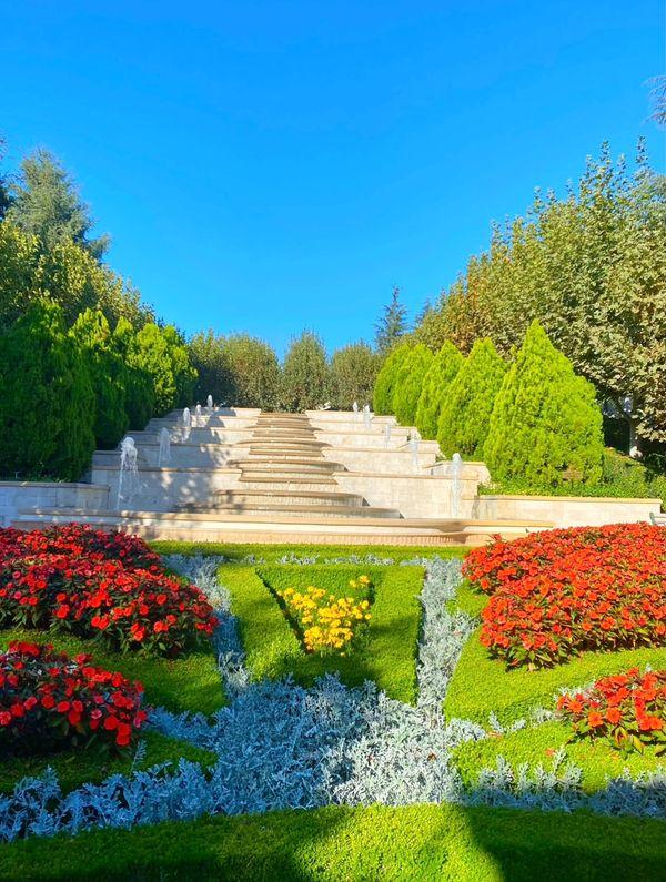 Beautiful garden in Thousand Oaks, CA