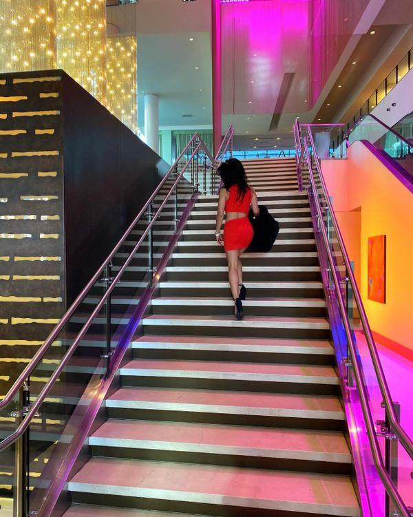 Stairway to Neon Heaven