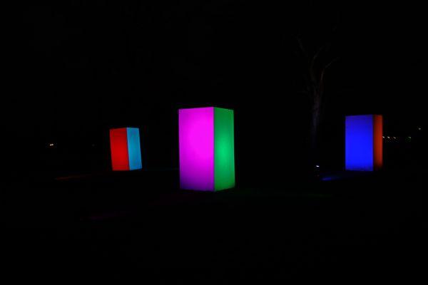 Lightcubes