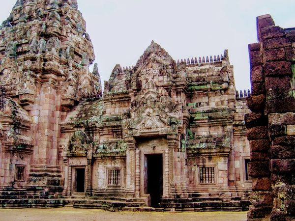The ancient Khmer temples of Kao Phnum Rung, Thailand