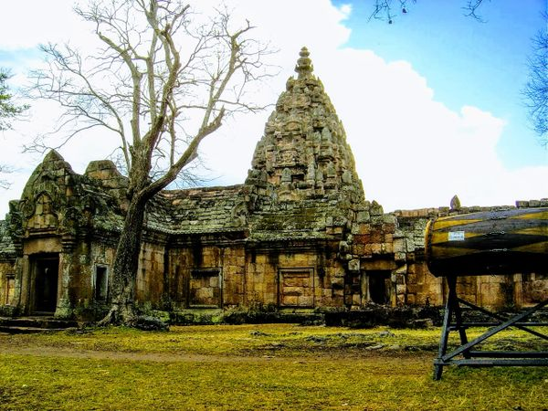 The ancient Khmer temples of Kao Phnum Rung, Thailand.
