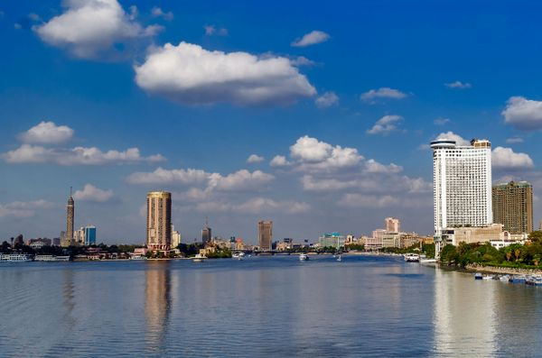 Beautiful City and Landscape In Egypt