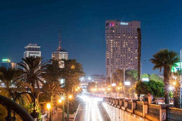 Downtown In Egypt