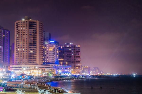 Architecture and cityscape Night at Egypt