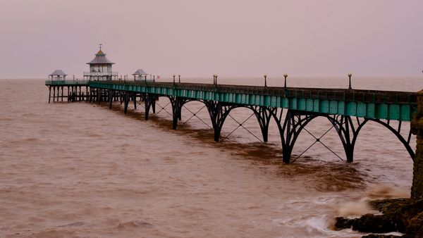 Gloomy Sunday Morning Pier