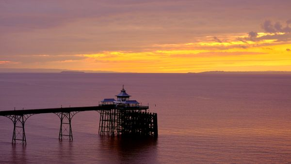 Late October Sunset, Clevedon.