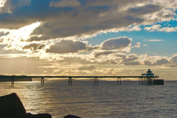 Late Afternoon Clevedon Pier.