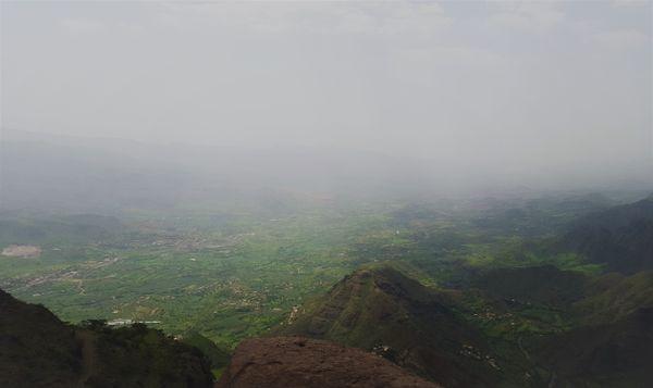 Landscape in Ibb City