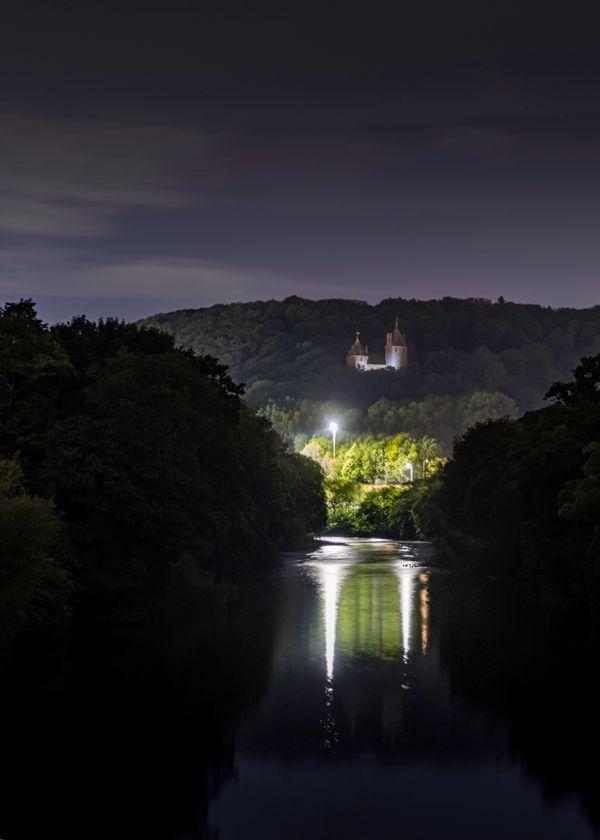 Castle Coch Night Portrait