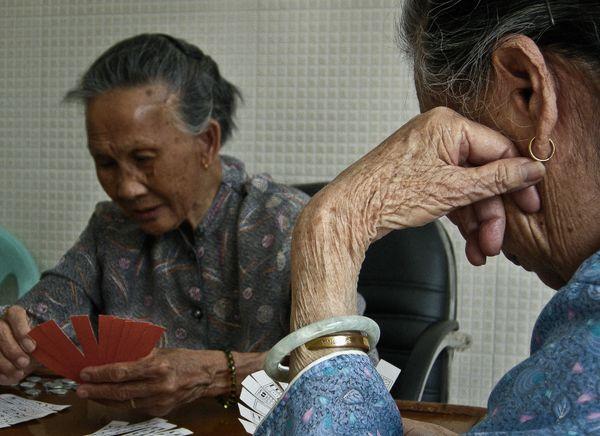 Elderly_Shenzhen, China 2008