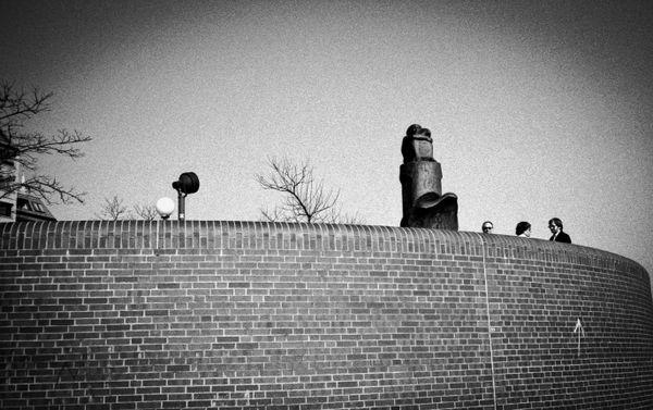 Sculpture and figures_Hamburg, Germany 1990