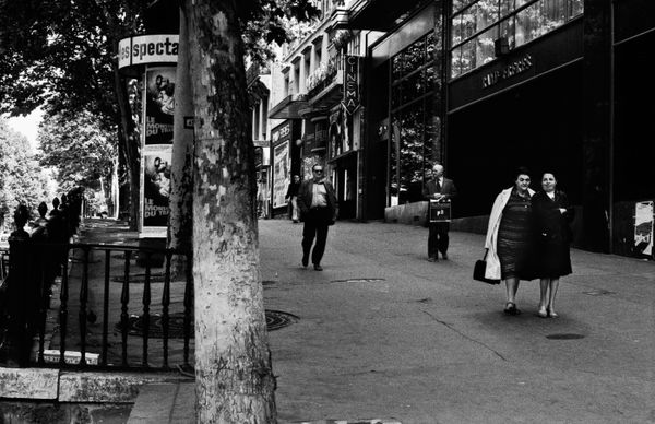 Passers By_Paris, France 1982