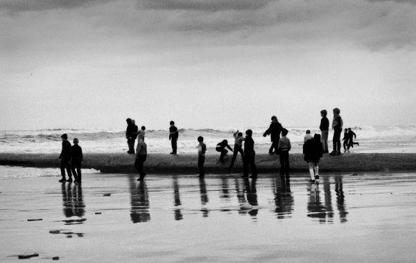 Beach boys_Whitley Bay, England 1983