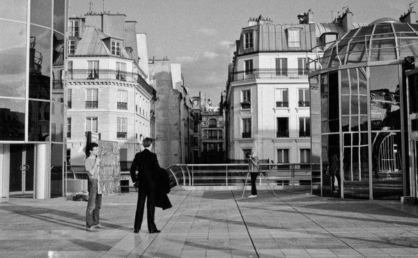 Photo shoot_Paris, France 1983