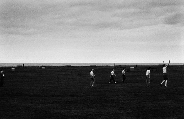 The Goal_Whitley Bay, England 1983